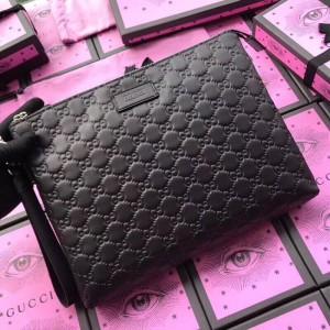 Gucci Black Signature Soft Men's Bag