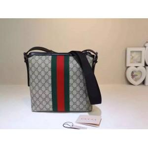 Gucci Beige Web GG Supreme Messenger Bag