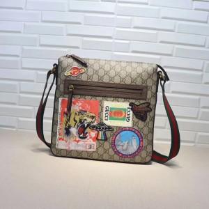 Gucci Courrier Soft GG Supreme Messenger Bag