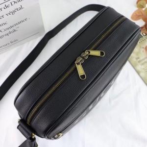 Gucci Black Print Shoulder Bag