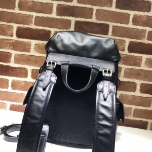 Gucci Black RE(BELLE) Leather Backpack