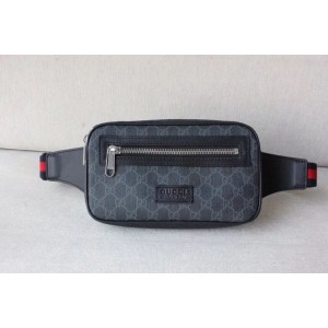 Gucci Black Soft GG Supreme Belt Bag