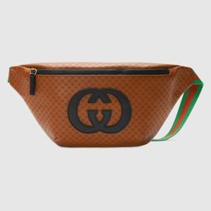 Gucci Brown Gucci-Dapper Dan Belt Bag