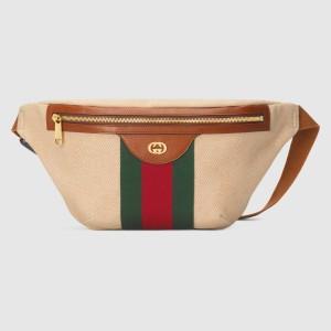 Gucci Vintage Canvas Belt Bag