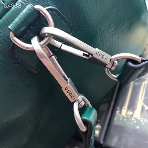 Gucci Backpack In Green Soft Leather