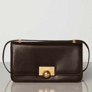Bottega Veneta BV Classic Bag In Chocolate French Calfskin