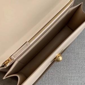 Bottega Veneta BV Classic Bag In Nude French Calfskin