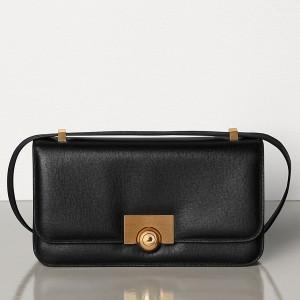 Bottega Veneta BV Classic Bag In Black Leather