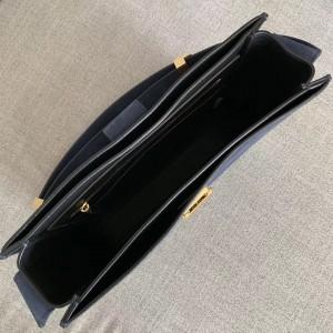 Bottega Veneta Marie Bag In Navy Blue Suede Leather