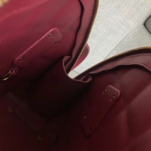 Bottega Veneta BV Swoop Small Bag In Amaranto Paper Calf