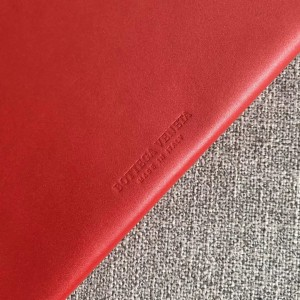 Bottega Veneta Daisey Bag In Red French Calf