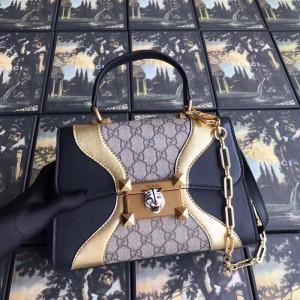 Gucci Osiride Small GG Top Handle Bag