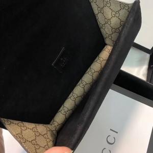 Gucci Black Dionysus GG Supreme Small Bag