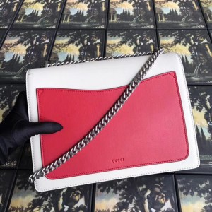 Gucci Bee Dionysus Medium Leather Shoulder Bag