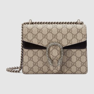 Gucci Black Dionysus GG Supreme Mini Bag