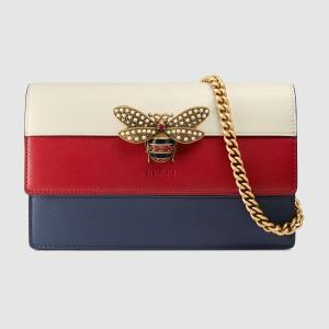 Gucci Queen Margaret Multicolour Leather Mini Bag