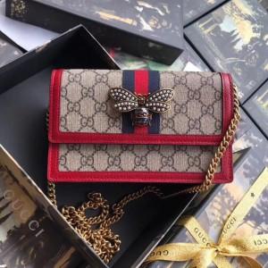 Gucci Queen Margaret GG Supreme Mini Bag