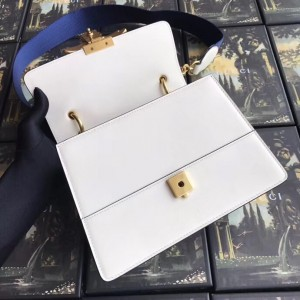 Gucci White Queen Margaret Small Top Handle Bag