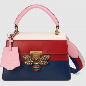 Gucci Multicolour Queen Margaret Small Top Handle Bag