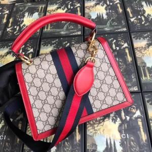 Gucci Queen Margaret GG Small Top Handle Bag