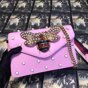 Gucci Pink Broadway Mini Shoulder Bag