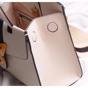 Gucci Ivory GucciTotem Medium Top Handle Bag