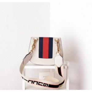 Gucci Ivory GucciTotem Butterfly Small Shoulder Bag