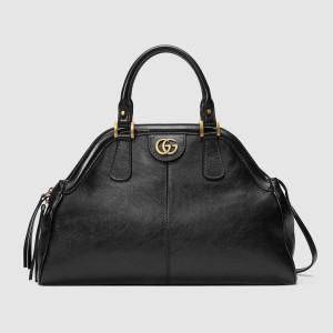 Gucci Black RE(BELLE) Medium Top Handle Bag