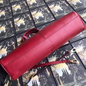 Gucci Red RE(BELLE) Medium Top Handle Bag