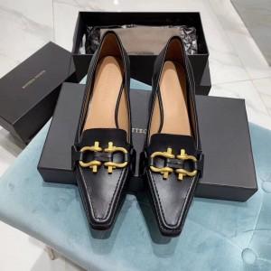 Bottega Veneta BV Madame Pumps In Black Leather