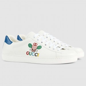 Gucci Men's Ace Sneakers With Gucci Tennis