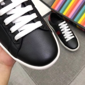Gucci Black Women Ace Embroidered Bee Sneaker