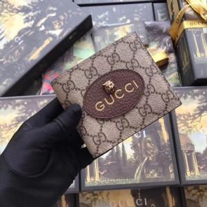 Gucci Neo Vintage GG Supreme Bi-fold Wallet