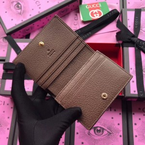 Gucci GG Supreme Ophidia Card Case Wallet