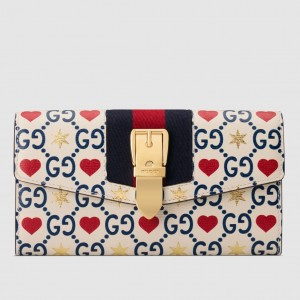 Gucci Chinese Valentine's Day Exclusive Sylvie Continental Wallet