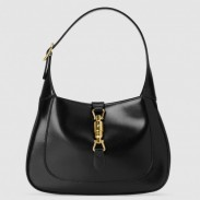 Gucci Jackie 1961 Small Hobo Bag In Black Leather