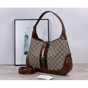 Gucci Jackie 1961 Medium Hobo Bag In GG Supreme