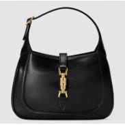 Gucci Jackie 1961 Mini Hobo Bag In Black Leather