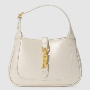 Gucci Jackie 1961 Mini Hobo Bag In White Leather