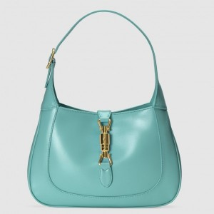 Gucci Jackie 1961 Small Hobo Bag In Light Blue Leather