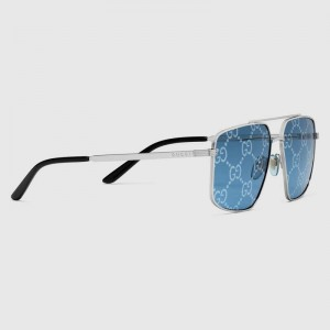 Gucci Aviator sunglasses with GG lens